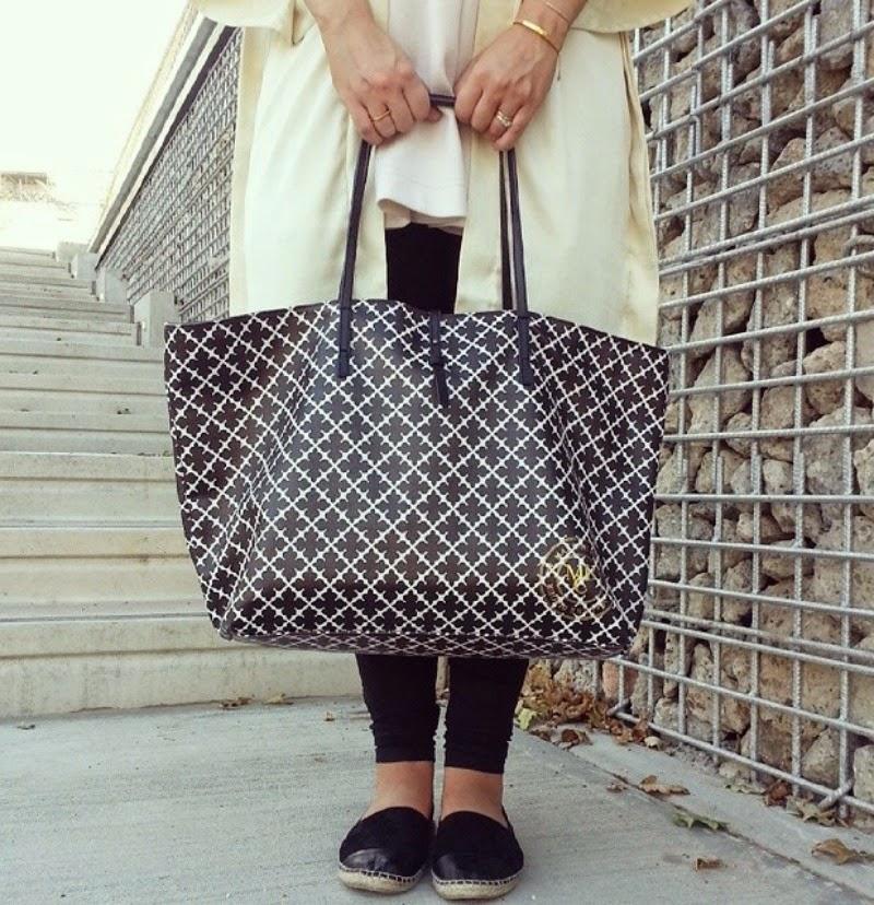 malene birger shopping bag